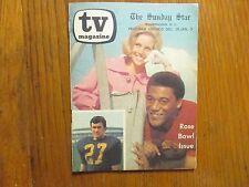 1969 Wash Sunday Star TV Mag(ROSE BOWL/BETTY WHITE/PAMELA TEDESCO/KATRINA HAMPEL