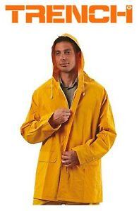 MASTER Standard Waterproof PVC/Polyester 3/4 Rain Jacker