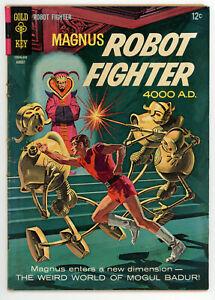 JERRY WEIST ESTATE: MAGNUS ROBOT FIGHTER #15 (VG) & MIGHTY SAMSON #7 (VG) 1966