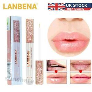Lanbena Lip Filler Plumper Serum Lips Plump Booster Bigger Pump Big Lipgloss UK
