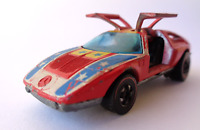 Vintage 1970 Hot Wheels Flying Colors Mercedes Benz C-111 Redline Hong Kong