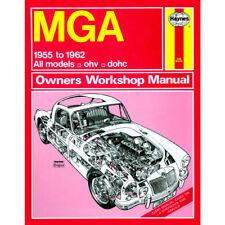 MGA Haynes Manual 1955-62  1.5 1.6 Petrol Workshop