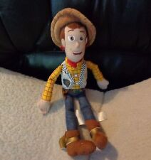DISNEY PIXAR WESTERN SHERIFF WOODY TOY STORY PLUSH BOY  DOLL NAME ON FOOT ANDY