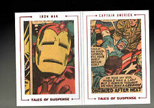 Marvel The Avengers Silver Age Dual Archive Cut Tales  Suspence TS75 card 12/51