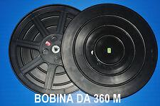 ★ BOBINA VUOTA DA 360 m PER PELLICOLA SUPER 8 mm CON CUSTODIA COME NUOVA ! ★