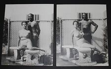 LOUIS JORDAN Self Portrait With Wife Nude 1969 Blaxploitation Photo Black Art