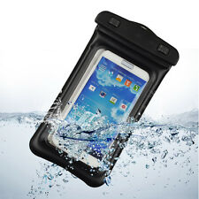 For Samsung Galaxy S4 S5 i9600 Note 3 N9000 Waterproof Pouch Dry Bag Case Black