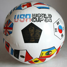 ULTRA RARE VINTAGE USA 94 WORLD CUP 1994 INFLATABLE PLASTIC BALL NEW MIP !