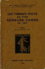 Catalogue des timbres poste Semeuse Camée 1907