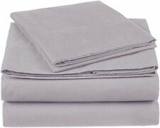 Amazon Brand – Pinzon 300 Thread Count Organic Cotton Bed Sheet Set - Twin XL...