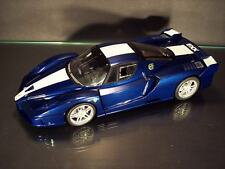 MINT*INRFB*FERRARI*FXX*EVOLUZION*BLUE/WHITE*1:18 SCALE*HOTWHEELS*VERY RARE