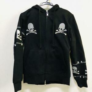 Mastermind Hoodie Jacket Blouson Skull Bone Cotton  From Japan  Black Men M