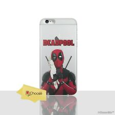 "Deadpool Case/Cover Apple iPhone 7 Plus (5.5"") / Screen Protector / Unicorn Hold"