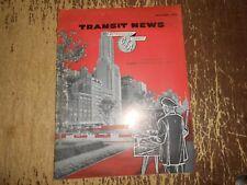 Vintage 1960 CTA Chicago Transit Authority Magazine
