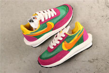 Sacai x Nike LD Waffle Pine Green Men's Size 10 Pink BV0073-301 New with Box