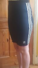 Addidas 3 stripe fitted skirt size 8