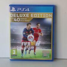 Fifa 16 - Deluxe Edition - sony PLAYSTATION 4 PS4 Spiel - Neu - Nicht Ovp