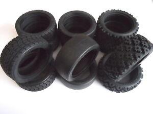 Choice Of New Tamiya Tyres/Tires: Treaded Radial / Slick / Rally Block