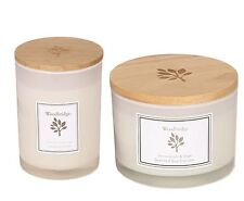 Woodbridge 100% Soy Wax Cotton Wick Lemongrass & Sage Scented Candle Gift Box