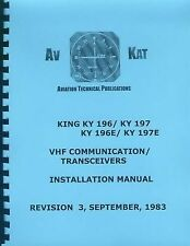 KING KY 196/197-196E/197E   INSTALLATION MANUAL