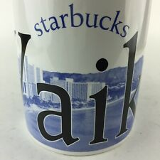 Starbucks Coffee Tea Mug Cup Waikiki  CITY MUG Collector Series