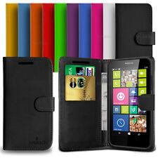 Custodia Case Flip Cover Pelle Portafogli Libro Per Nokia Lumia 630 - 635