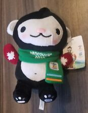 "Vancouver 2010 Olympics Mascot Miga w/ Red Mittens - Medium 9.5"" Tall - RARE!"