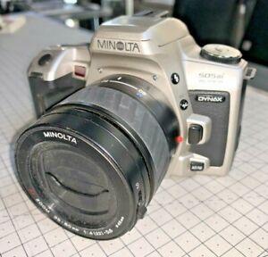 Minolta Dynax 505si Super SLR for 35mm film, Minolta 35-80mm f4-5.6 Zoom Lens