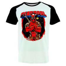 Herren-T-Shirts Deadpool Raglan-Stil