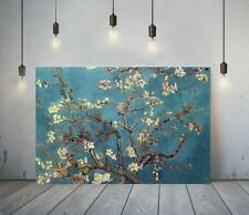 VAN GOGH ALMOND BLOSSOMS-FRAMED CANVAS PAINTING WALL ART PICTURE PAPER PRINT