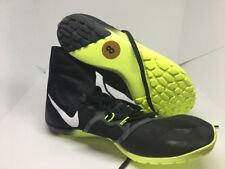 Men's Nike Zoom Victory Waffle 4 XC Racing Shoes Black Volt Size 8 878803 017