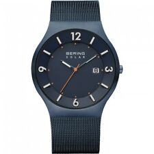 BERING Men's Watch 14440-393 Solar With Date Sapphire Glass