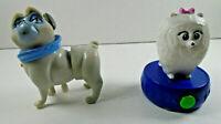 Gidget Secret Life of Pets PVC Figure Snapco cineplex good cake topper