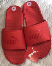 flip flops for men size 12M red PUMA COOL CAT