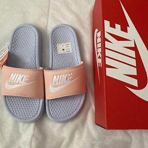 Nike Women's Benassi Sliders Size Uk 5.5 Or 7.5 BNIB