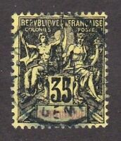 Martinique stamp #46, used, France and Colonies