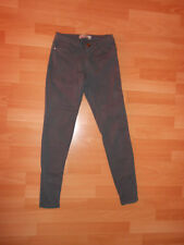 Zara Basic Stretch Jeans Hose Jeggings Slim Röhre Gr.34 XS grau Top!