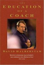 THE EDUCATION OF A COACH, David Halberstam, NEW Hardcover w/DECKLE-EDGED PAGES