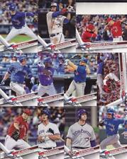 2017 TOPPS UPDATE TORONTO BLUE JAYS team set (11 cards) ALFORD, DWIGHT SMITH RC