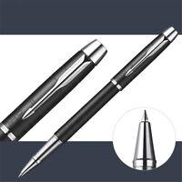 Luxurious Metal Parker IM Black Forest 0.5mm Fine Nib Rollerball Pen