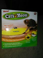 Cat's Meow Motorized Cat Toy * Brand New In Box!