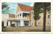 Postcard - Lake Hotel - Yellowstone. Unposted. J E Haynes