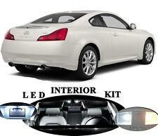 LED Package - Interior + License + Vanity + Reverse for Infiniti G35 G37 Q40