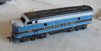 Vintage 1970s HO Scale Baltimore and Ohio 283 Dummy Locomotive LOOK