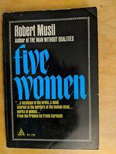 Five Women by Robert Musil (Paperback, 1966)