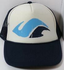 f66646a3cfa Surfer Hat Mesh Snapback Trucker Hat Water Waves White Blue Otto Collection  Cap