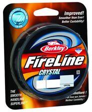 New! Berkley Fused Crystal Fireline, 4/1 Lb, 125 Yd , Crystal Bflfs4-Cy