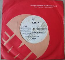 "QUEEN 45 PROMO Bicycle Race SOUTHAMERICA 7"" 1978 Spanish Titles"