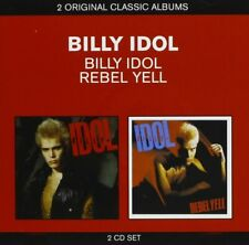 Billy Idol ‎- Billy Idol / Rebel Yell (2011)  2CD  NEW/SEALED  SPEEDYPOST