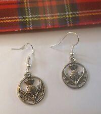 Earrings Scottish Thistles